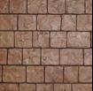 cobblestone stamped concret design